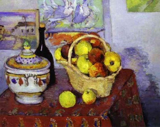 paul cezanne still life with soup tureen paintings