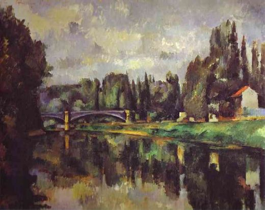 paul cezanne the banks of the marne paintings