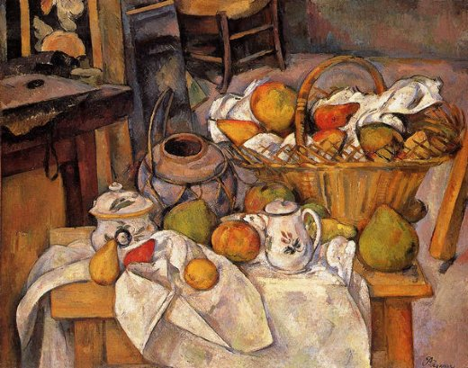 Paul Cezanne The Kitchen Table Paintings