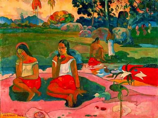 paul gauguin miraculous source painting