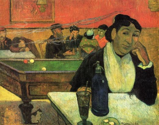 paul gauguin mme ginoux oil painting