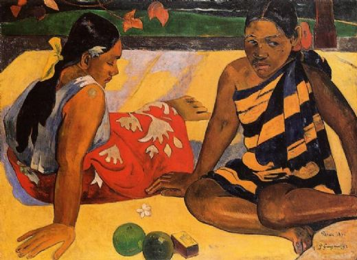 paul gauguin what news paintings