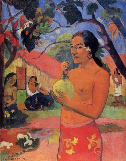 paul gauguin where are you going painting