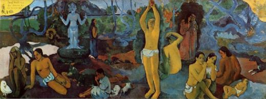 paul gauguin where do we come from paintings