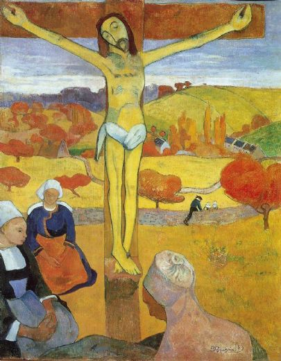 paul gauguin yellow christ paintings
