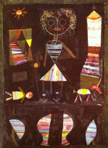paul klee puppet theater prints