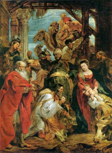 peter paul rubens adoration of the kings painting