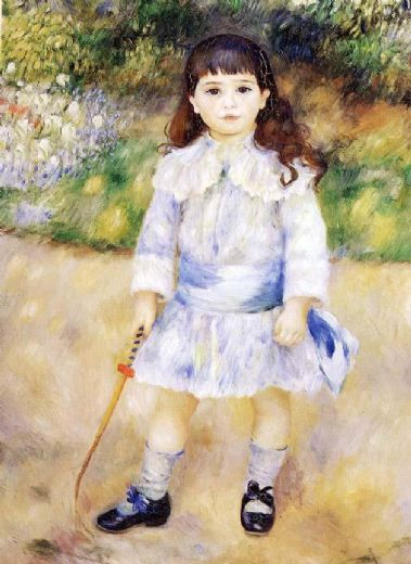 pierre auguste renoir child with a whip paintings