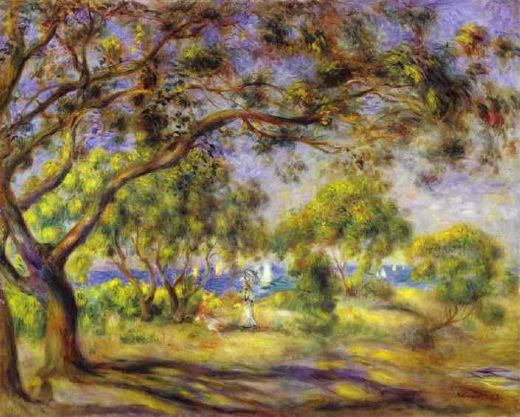 pierre auguste renoir noirmoutier paintings