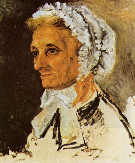 pierre auguste renoir the artist s mother painting