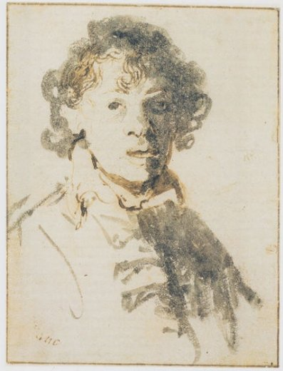 rembrandt van rijn self portrait open paintings