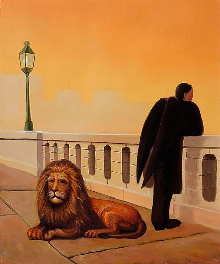 rene magritte homesickness painting