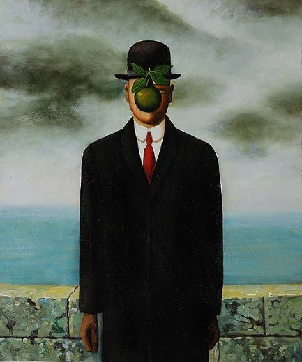 Rene Magritte The Son Of Man rene magritte the son ...