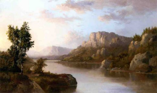 robert scott duncanson landscape oil painting