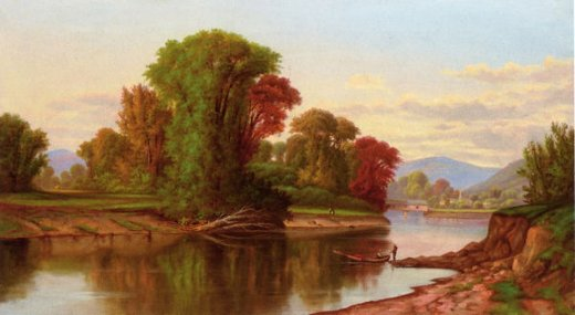 robert scott duncanson river scene paintings