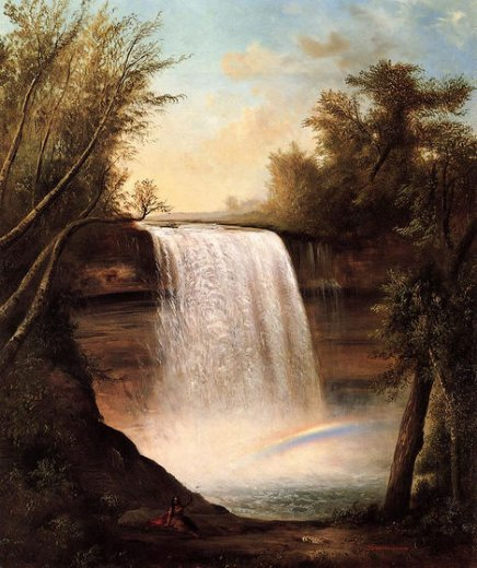 robert scott duncanson the falls of minehaha paintings