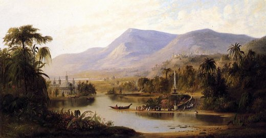 robert scott duncanson vale of kashmir painting