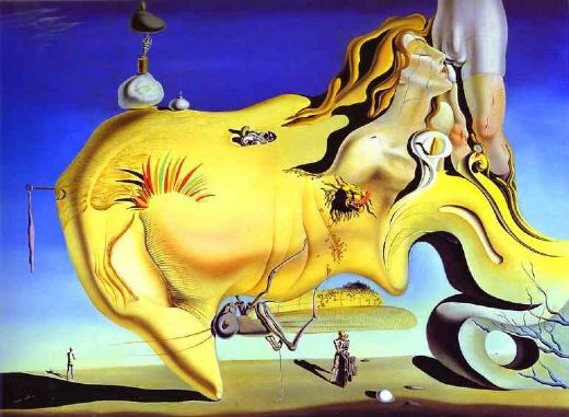 salvador dali the great masturbator paintings