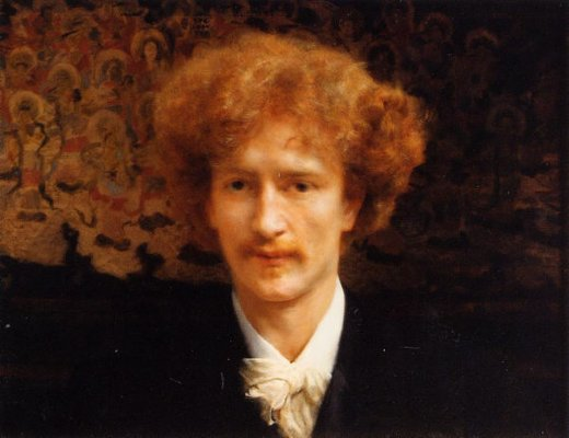 sir lawrence alma tadema portrait of ignacy jan paderewski painting