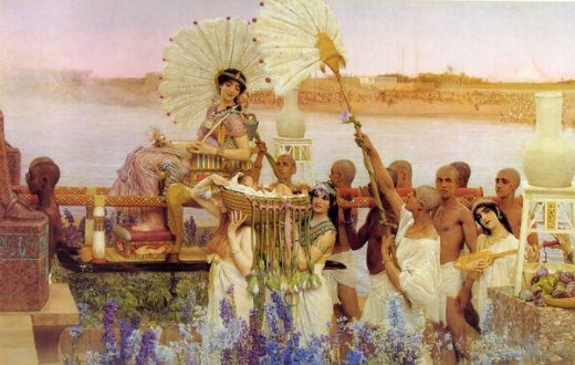 sir lawrence alma tadema the finding of moses ii paintings