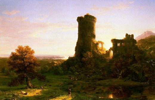 thomas cole the present painting