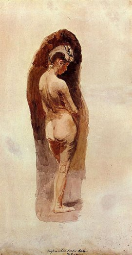 thomas eakins female nude painting