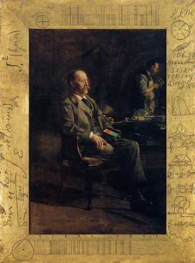 thomas eakins portrait of professor henry a. rowland painting