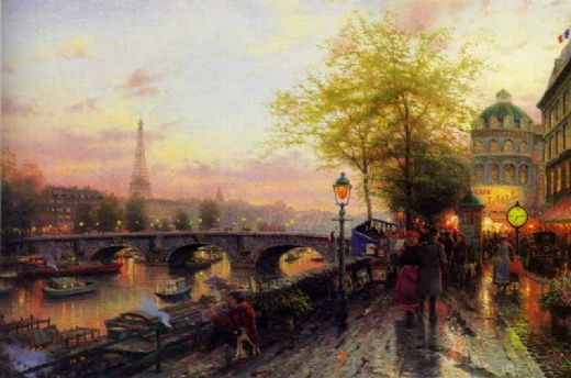 Tomas Kinkade - Page 6 Thomas-kinkade-paris-eiffel-tower-81486