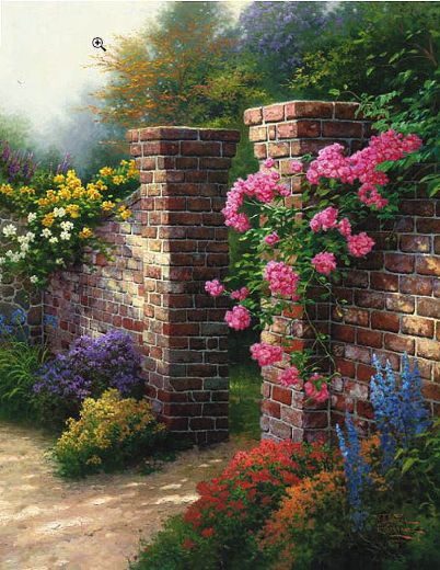 Amazon.com: Thomas Kinkade: Paintings of Radiant Light