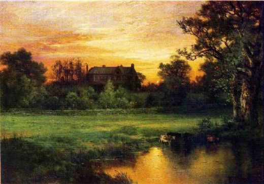 thomas moran easthampton painting