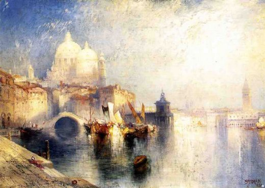 thomas moran venice italy not named paintings