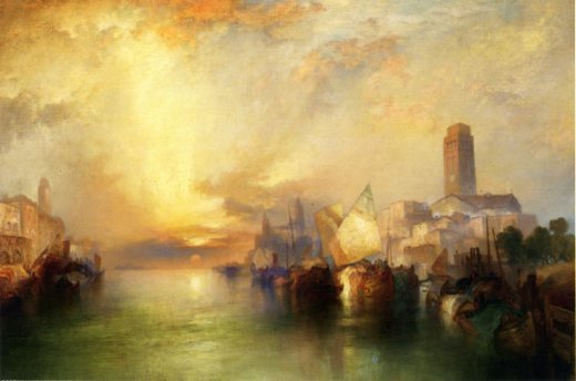 thomas moran view of venice iii painting