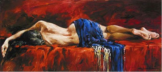 unknown artist andrew atroshenko in repose prints