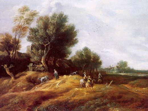 unknown artist peeters landscape with dunes paintings