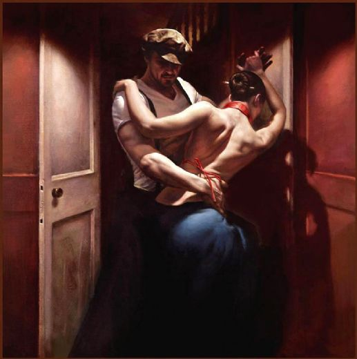 unknown artist tango rouge by hamish blakely paintings