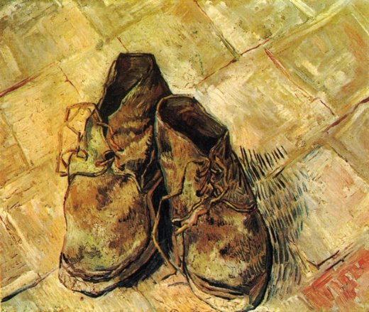 When Did Vincent Van Gogh Paint A Pair Of Shoes