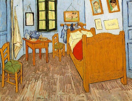 van gogh bedroom arles painting 77555 vincent van gogh bedroom arles