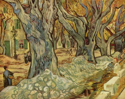 vincent van gogh canalization works paintings