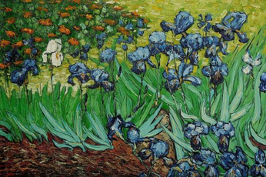 Shopping Vincent Van Gogh Irises Iii Painting Amp Vincent