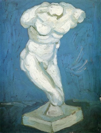 vincent van gogh male nude ii painting