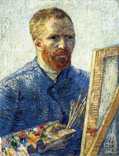 self portrait as a painter painting - vincent van gogh self ...