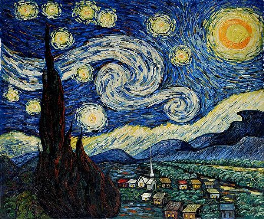 shopping vincent van gogh starry night ii painting