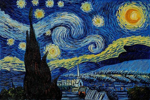 shopping vincent van gogh starry night iii painting