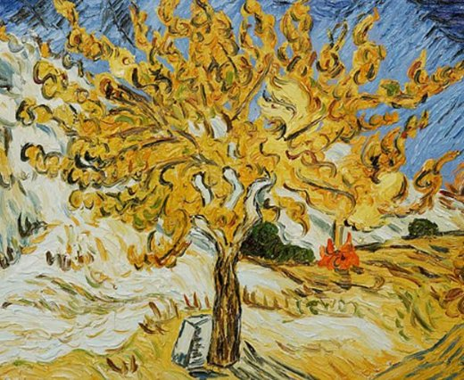 vincent van gogh and the mulberry tree essay From the norton simon museum of art: van gogh suffered from delicate mental  and physical health throughout his life in the spring of 1889, following a series.