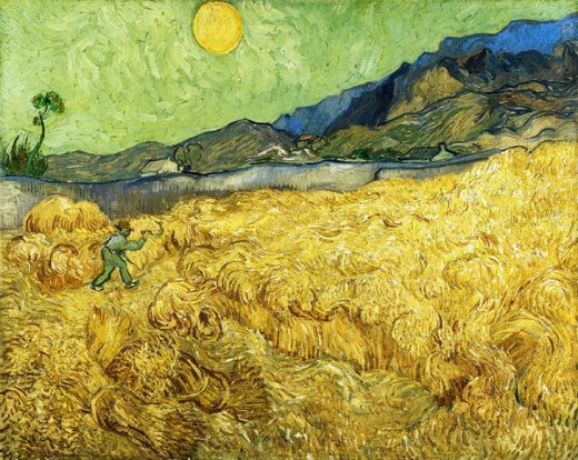 vincent van gogh the reaper painting