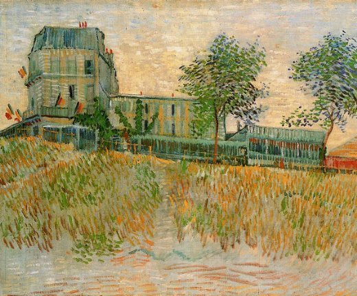 vincent van gogh the restaurant de la sirene at asnieres paintings