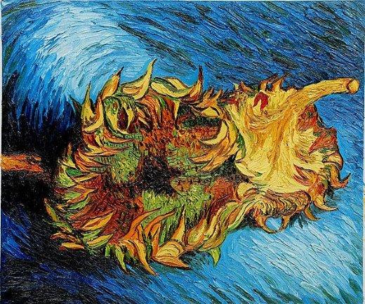 Shopping paintings vincent van gogh two sunflowers ii - vincent van ... Quailman Doug Funnie