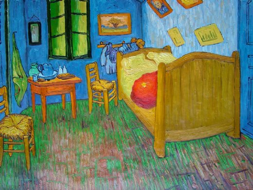 Shopping vincent van gogh vincent s bedroom at arles - Van gogh la camera da letto ...