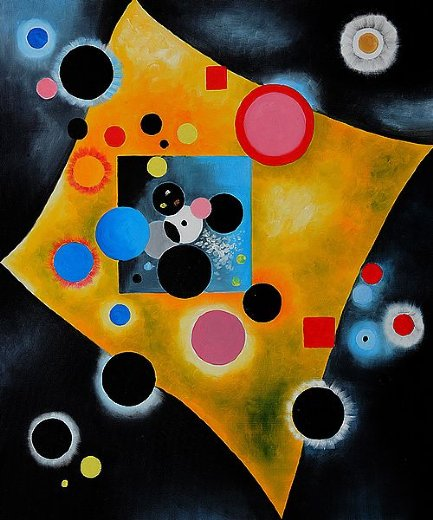 Shopping wassily kandinsky accent en rose painting ...