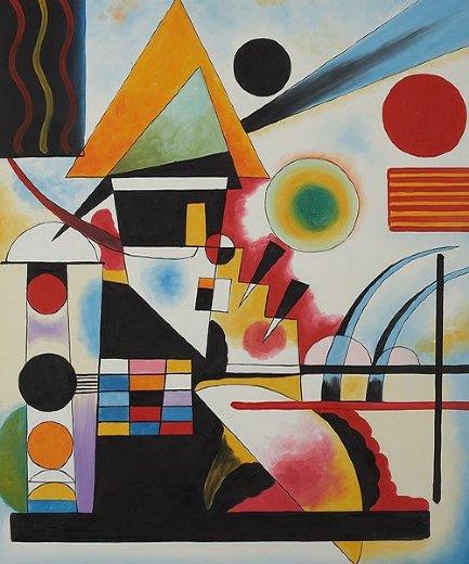 wassily kandinsky balancement swinging painting - wassily ...